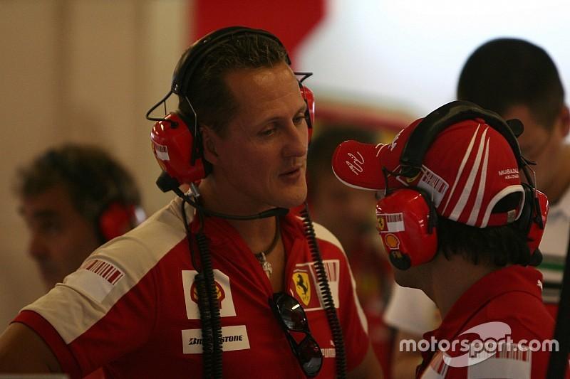 Ferrari recuerda en redes los tres años del accidente de Schumacher