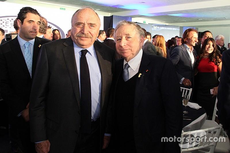 Todt encabeza entrega de los FIA Americas Awards 2016
