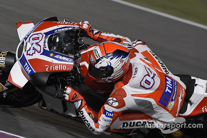Ducati tegaskan tak ada tekanan untuk menang di Qatar