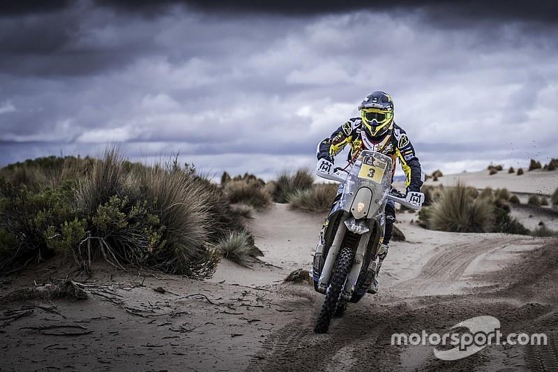 Pablo Quintanilla abandona el Dakar