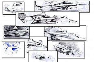 IndyCar Actualités L'IndyCar dévoile des premiers dessins de sa voiture 2018