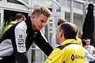 Hülkenberg niet gelukkig met vertrek Vasseur bij Renault