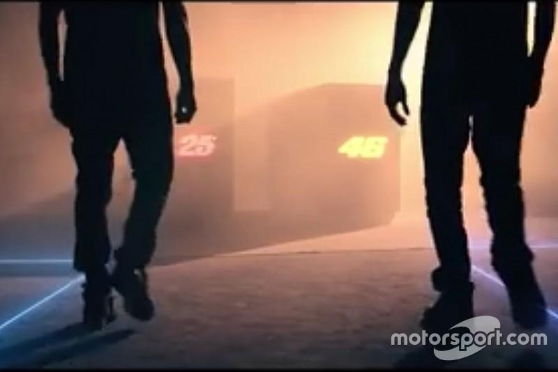Video: Yamaha anuncia la presentación de la moto de Rossi y Viñales