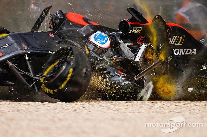 FIA simuleerde crash Alonso in Melbourne met halo