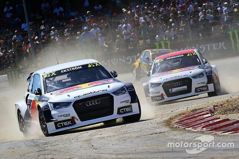 Rallycross-WM: Rennstall von Mattias Ekström wird Audi-Werksteam