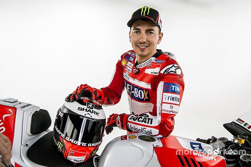 """Lorenzo: """"Lo que sentí ayer solo lo puedes vivir en Ducati"""""""