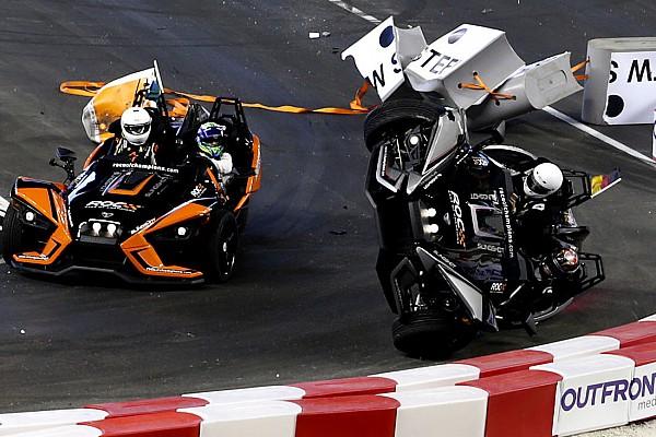 Algemeen Wehrlein start na zware crash niet meer in Race of Champions