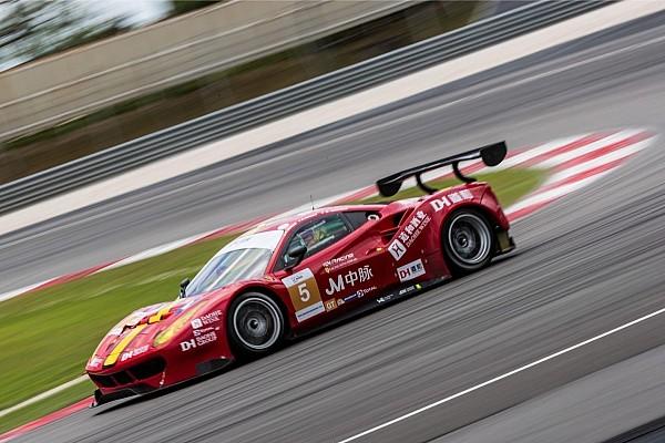 Asian Le Mans Ultime notizie Il trevigiano Michele Rugolo vince il titolo con la Ferrari di DH Racing