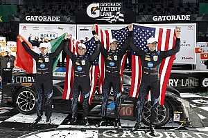 IMSA News Daytona-Sieger Taylor, Taylor, Angelelli, Gordon: