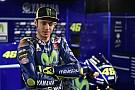 Valentino Rossi en petite forme, mais ravi de sa Yamaha