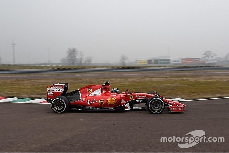 Giovinazzi se estrenó con un Ferrari en Fiorano