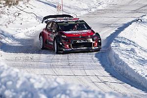 WRC 速報ニュース 【WRC】ラリースウェーデン前にミークがテスト中に横転。損傷はなし