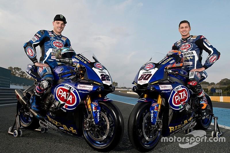 Yamaha presenta su formación para el WorldSBK con Lowes y Van der Mark