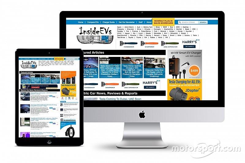 Motor1.com fait l'acquisition d'InsideEVs.com