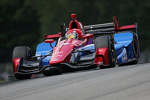 IndyCar Новость Алешин оказался последним на тестах в Финиксе
