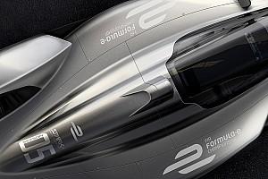 Formula E Breaking news Spark rilis gambar konsep mobil Formula E masa depan