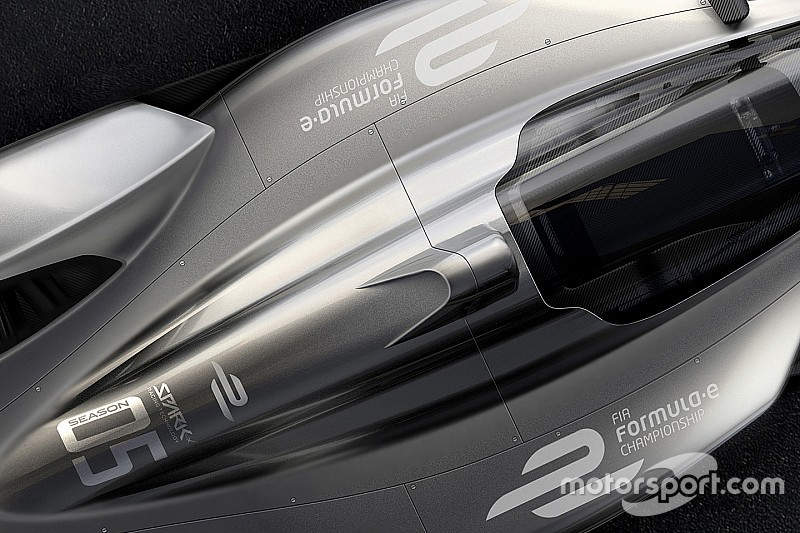 Spark rilis gambar konsep mobil Formula E masa depan