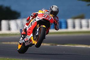 MotoGP Testbericht MotoGP-Test: Marc Marquez zum Auftakt vor Valentino Rossi