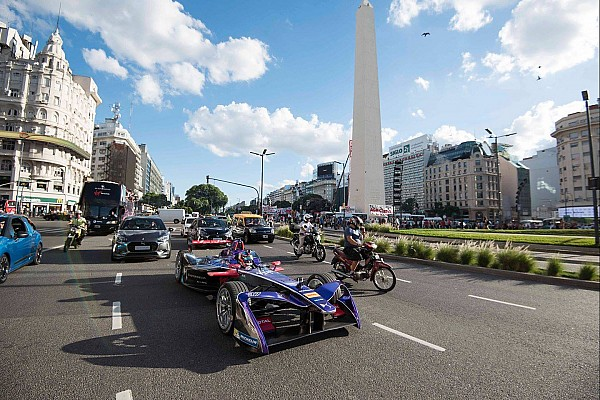 Formula E Top List Vídeo: Un Fórmula E por las calles de Buenos Aires
