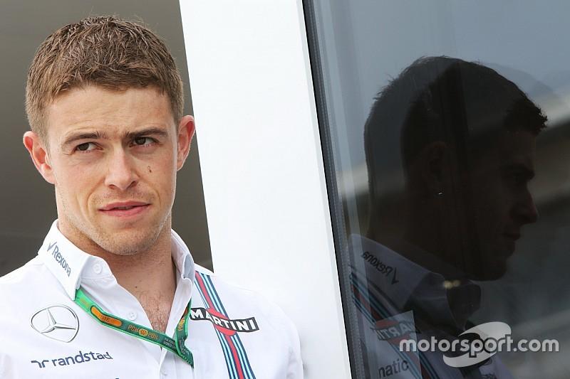 Di Resta ook in 2017 reservecoureur van Williams