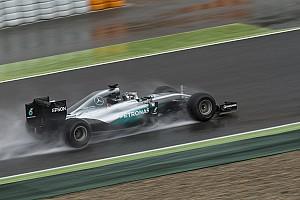 Formule 1-teams testen volgende week donderdag op natte baan