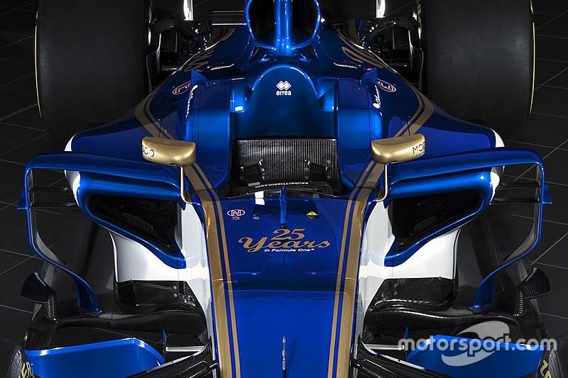 Sauber: la C36-Ferrari ha il fondo rialzato davanti alle fiancate!