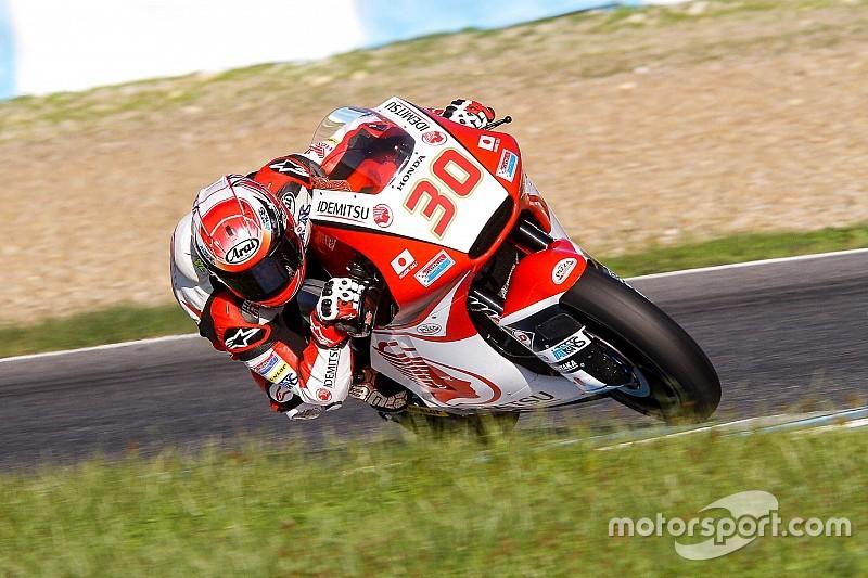 Nakagami en Moto2 y Bulega en Moto3, los mejores en el test de Jerez
