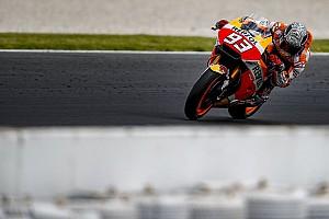 MotoGP Новость Маркес вывихнул плечо на частных тестах Honda