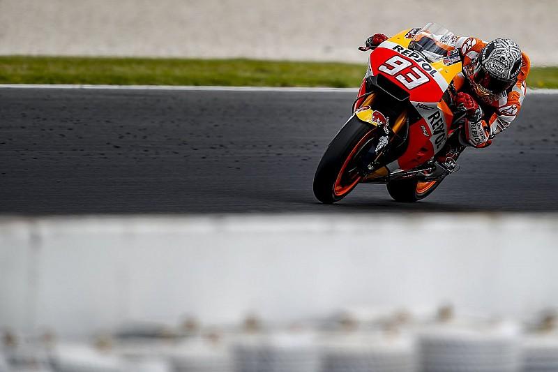 Маркес вывихнул плечо на частных тестах Honda