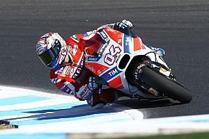 Andrea Dovizioso: Ducati-Fortschritte