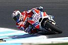 MotoGP Andrea Dovizioso: Ducati-Fortschritte