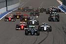 Formula 1 Rusya, 2025'e kadar Formula 1 takviminde