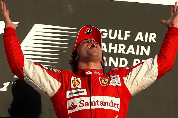 8 años de la primera victoria de Alonso en Ferrari