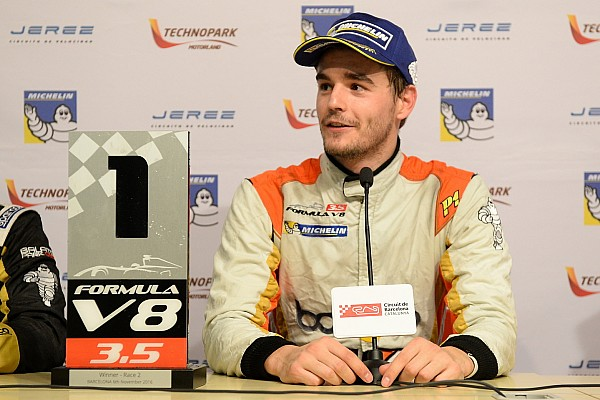 F3.5-kampioen Dillmann test voor Venturi in Mexico