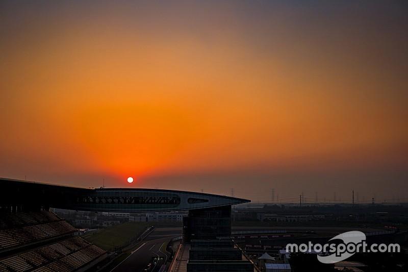 Розклад подій та трансляцій Гран Прі Китаю