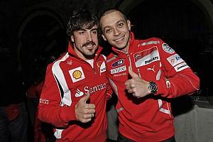 """MotoGP Noticias Rossi: """"Que Alonso gane las 500 Millas, ¿por qué no?"""