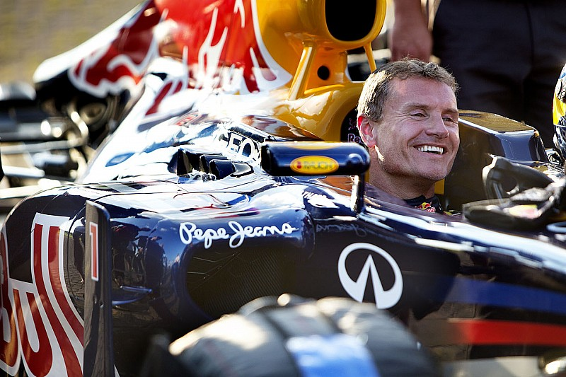 VIDEO: Coulthard se pasea con un Red Bull de F1 en Budapest