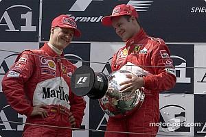 Формула 1 Ностальгія 15 років тому: фейкова перемога Міхаеля Шумахера