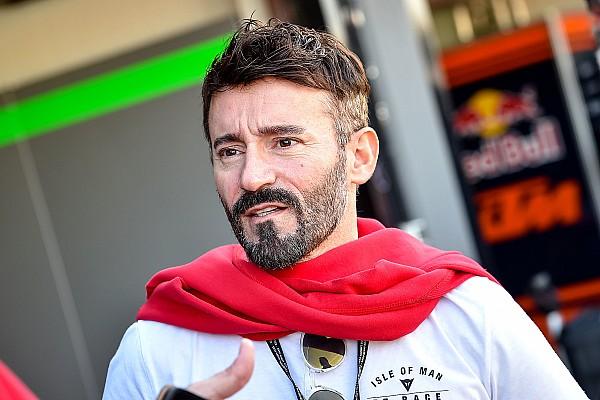 MotoGP Новость Бьяджи попал в больницу после падения на тренировке Supermoto
