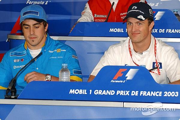 Формула 1 Новость Ральф Шумахер и Алонсо повздорили из-за картинговой трассы