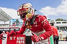 FIA F2 El especial homenaje de Leclerc a su padre recién fallecido