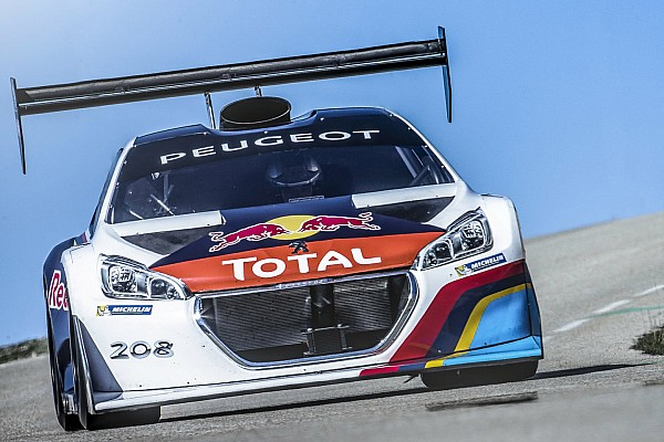 Hillclimb Loeb gets awesome Pikes Peak Peugeot 208T16 to race again