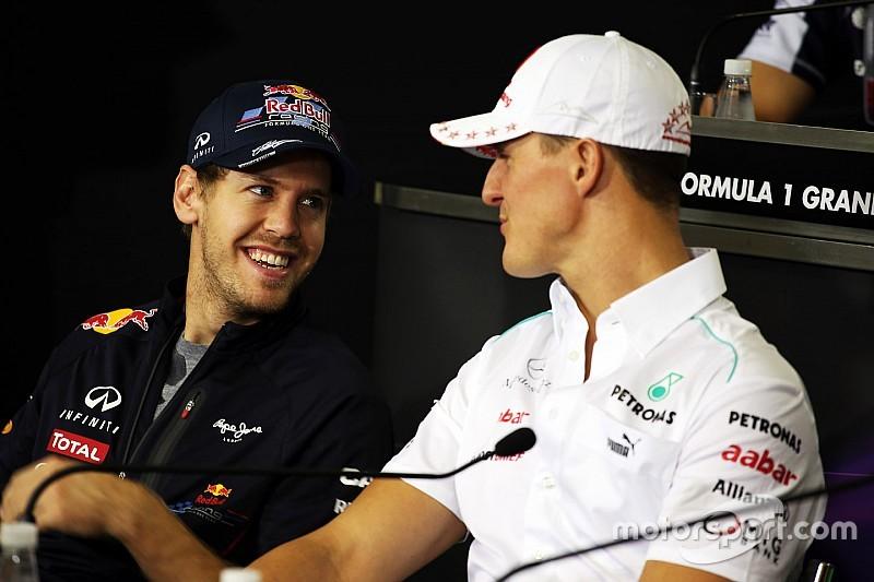 """Para Lauda: """"Vettel es como Schumacher, él nunca hace nada malo"""""""