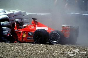 Формула 1 Ностальгія Цей день в історії: зламана нога Міхаеля Шумахера