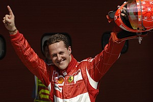 F1 Noticias de última hora VIDEO: Ferrari rindió homenaje a Michael Schumacher en su festejo