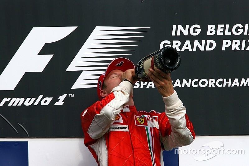 Tükörsima kettős Ferrari-siker Belgiumban, Räikkönen harmadik spái győzelme