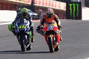 MotoGP: Dani Pedrosa kritisiert Manöver von Valentino Rossi in Aragon