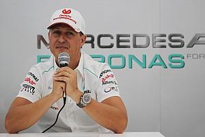 Formel 1 Historie Vor fünf Jahren: Michael Schumacher tritt zurück – endgültig