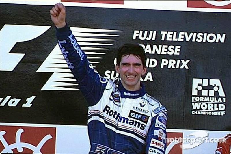 Retro: Damon Hill világbajnok