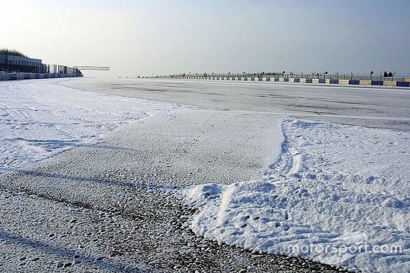 «Спа» под снегом: два круга по зимней трассе